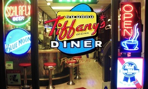 Tiffany's Original Diner: $12 for Two Groupons, Each Good for $10 Worth of Food at Tiffany's Original Diner ($20 Total Value)