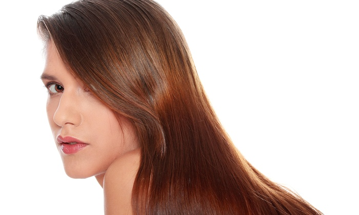 True Color Salon - Friendswood: Haircut with Option of Partial Highlights, Ombre Color, or Full Highlights at True Color Salon (Up to 60% Off)