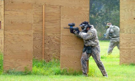Outdoor Paintball for 1, 2, or 4, or 6 with Equipment and Paintballs at Action Packed Paintball (Up to 54% Off)
