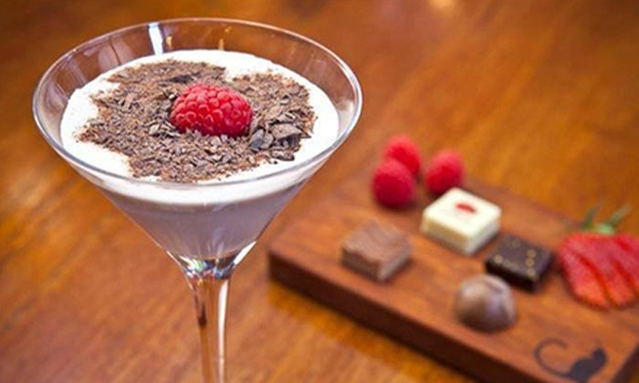 AYZA Wine & Chocolate Bar  - Koreatown: Date-Night Packages with Small Plates & Dessert Martinis at AYZA Wine & Chocolate Bar (Up to 48% Off)