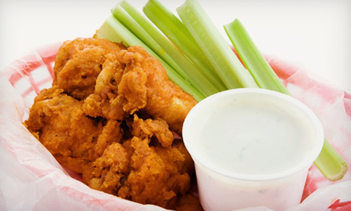 Black Bear Saloon  - Briarcliff Manor: Wings and Beers for Two or Four at Black Bear Saloon (Up to 58% Off)