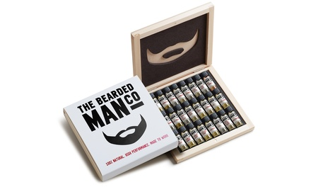 The Bearded Man Company sampler Box Set met 24 producten