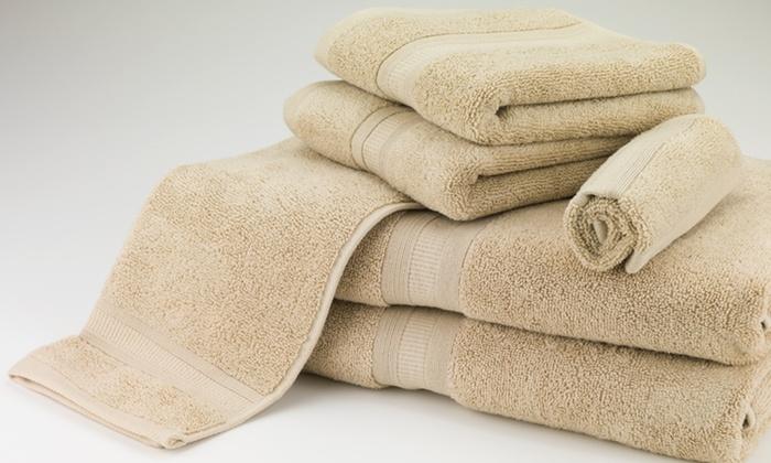 100% MicroCotton 6-Piece Towel Sets: 100% MicroCotton 6-Piece Towel Sets. Multiple Colors Available. Free Returns.