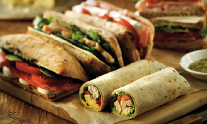 La Prep - Multiple Locations: Café Food and Drinks at La Prep (Half Off). Two Options Available.