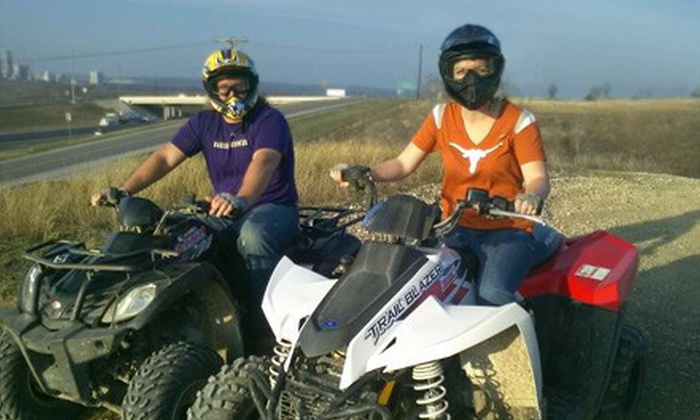 Roll Rage - New Braunfels: Four-Wheel ATV Adrenaline Tour for Two or Four at Roll Rage in New Braunfels (61% Off)
