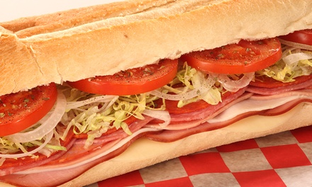Subs and Salads at Sub Station II (Up to 51% Off). Three Options Available.