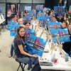51% Off Painting Class at Design & Wine Eat• Drink• Paint