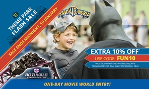 Warner Bros. Movie World: Warner Bros. Movie World: Child ($69) or Adult ($79) Single Day Pass (Up to $89 Value*)