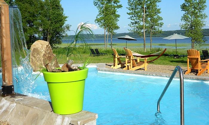 Spa des Neiges - Sainte-Anne-de-Beaupré: 21 $ pour un accès d'une journée à la station thermale du Spa des Neiges (une valeur allant jusqu'à 42 $)