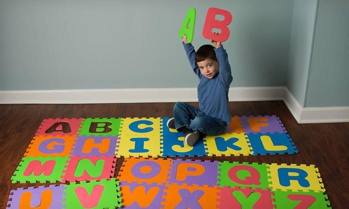 Alphabet Play Mat Groupon Goods