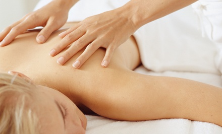 One or Three Deep-Tissue Massages or Active Isolated Stretching Sessions at Unearth the Power (Up to 52% Off)