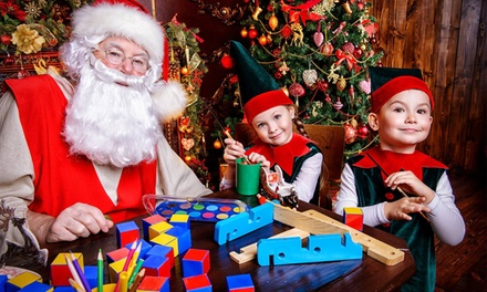 Christmas Wonderland for 1 ($25) or 4 ($80), Various Sessions, 18 - 24 December at Casula (Up to $196 Value)