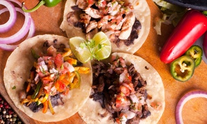 Carmina's Mexican Food: Mexican Food at Carmina's Mexican Food (Up to 60% Off). Two Options Available.
