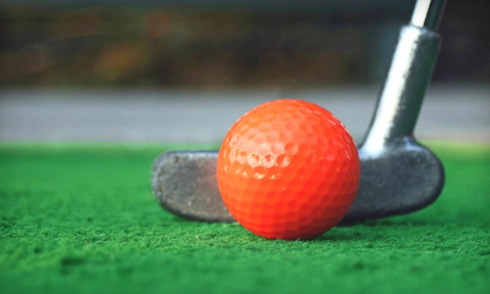 Jim & Rocks Mini Golf - Liverpool: Mini Golf and American Food for Two or Four at Jim and Rocks Mini Golf (Up to 55% Off)