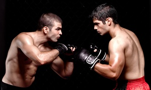 OBEY MMA: One Month of Unlimited Group Classes for One or Two Adults at OBEY MMA (Up to 56% Off)