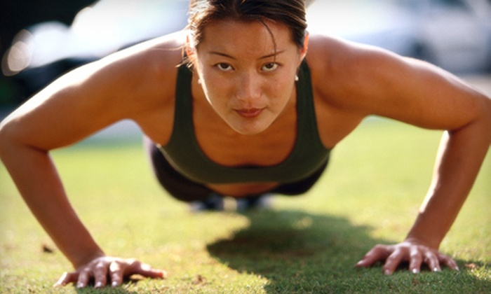Rock Star Bikini Bootcamp - South Columbus: 10 or 20 Boot-Camp Classes with One-Month Gym Membership at Rock Star Bikini Bootcamp in Pickerington (Up to 74% Off)