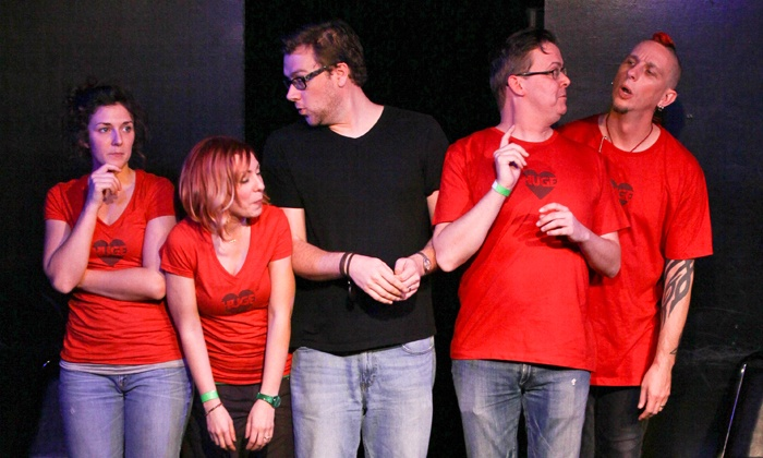 Huge Improv Theater - Huge Improv Theater: Improv Comedy Show with Drinks for Two or Four at Huge Improv Theater (Up to 61% Off)