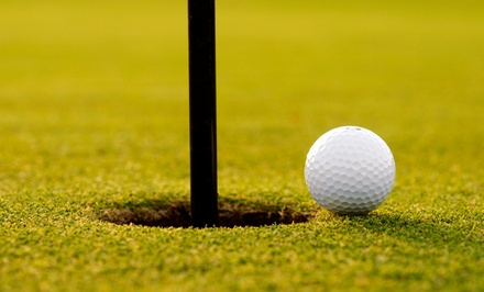 All-Day Golf Outing for One, Two, or Four at Liberty Road Golf Center (Up to 53% Off)