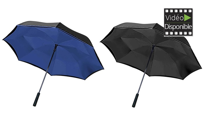 parapluie magique wonderdry umbrella groupon. Black Bedroom Furniture Sets. Home Design Ideas