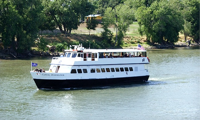 Hornblower Cruises & Events - Downtown Sacramento: Historical Sacramento River Cruise for Two or Four, or Family of Four from Hornblower Cruises & Events (Up to 40% Off)