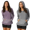 Balance Collection Women's Surplice Hoodie