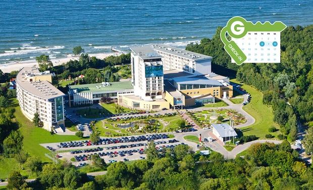 Arka Medical Spa - Kołobrzeg: Kolberg: Zweibettzimmer für Zwei mit HP und Eintritt in die Salzgrotte im 4* Arka Medical Spa