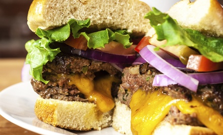 Burgers and Classic American Cooking at Fourth Ward Grill (Up to 50% Off). Two Options Available.