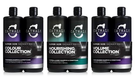 Groupon DE 2er-Pack TIGI Catwalk Shampoo 750 ml und Spülung 750 ml in Ausführung nach Wahl