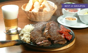 Zebu Grill: Brazilian Dinner for Two or Four at Zebu Grill (Up to 45% Off)