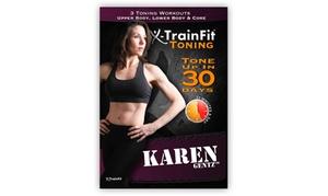 X-TrainFit Toning 3-Workout DVD with Karen Gentz