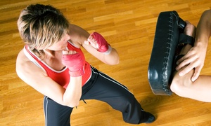 Superkix Martial Arts: 10 Kickboxing Classes, or One Month of Unlimited Kickboxing Classes with Wraps at Superkix Martial Arts (Up to 71% Off)