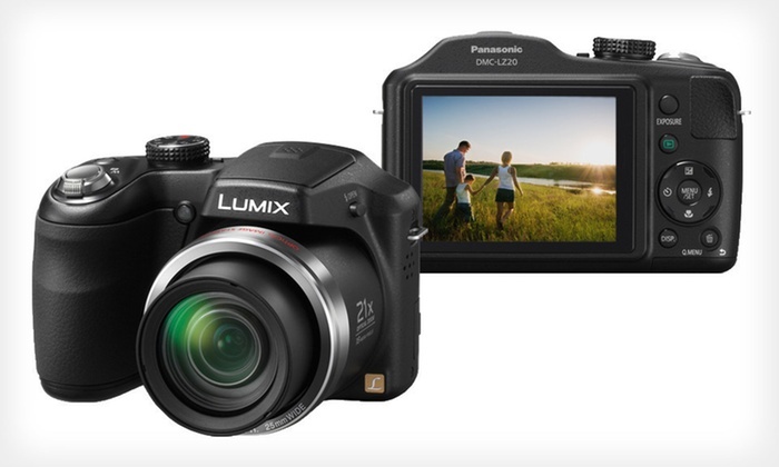 Panasonic Lumix 16.1-Megapixel Digital Camera with 21x Optical Zoom: $169 for a Panasonic Lumix Digital Camera ($249.99 List Price). Free Shipping and Free Returns.