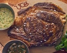 VCB: côte de bœuf maturé 45 jours pour 2 personnes à 49,90 € au restaurant Le VCB