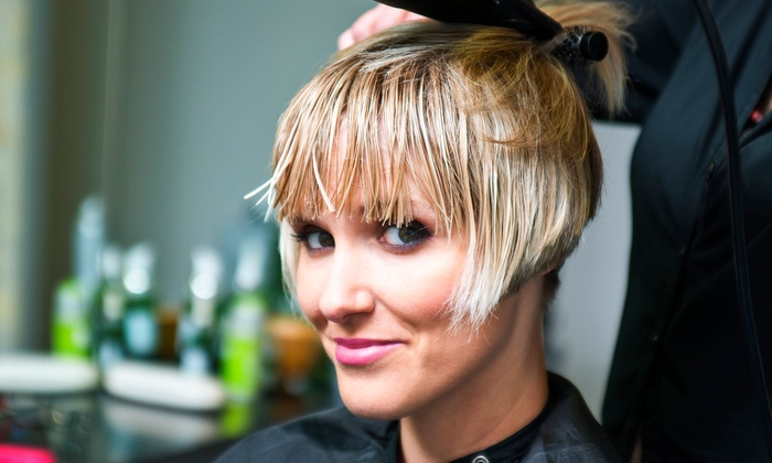 Shelby at Wink-A Salon - East Central: One or Three Haircuts with Shampoo and Blow-Dry Styles from Shelby at Wink-A Salon (Up to 51% Off)