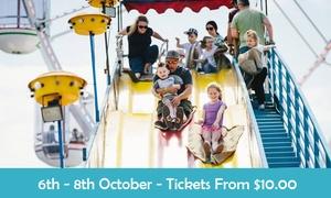 Kidtopia: Kidtopia Festival: Entry Tickets 50% Off at Parramatta Park, 6-8 October 2017