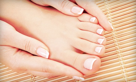 One or Three Gel Manicures with Pedicures at Echelon Salon (Up to 56% Off)