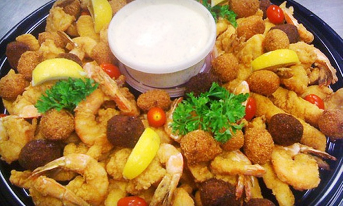 Randy Montalbano's Seafood & Catering - Broadmoor/Sherwood: Fish and Shrimp Party Tray or $10 for $20 Worth of Seafood at Randy Montalbano's Seafood & Catering