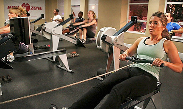 Row Zone - Multiple Locations: $35 for Five Indoor Rowing-Training Sessions at Row Zone ($90 Value)