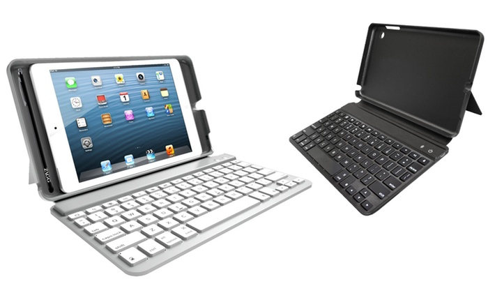 ZAGGkeys Mini 7 Folio Keyboard Case for iPad Mini: ZAGGkeys Mini 7 Folio Keyboard Case for iPad Mini in Black or White.