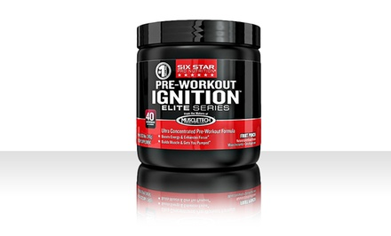 Six Star Pro Nutrition Pre-Workout Ignition Supplement, 0.53lb Jar