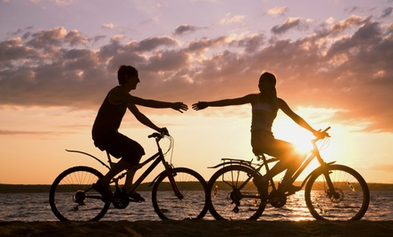 Two-Hour or Full-Day Bike Rental for One or Two from English Bay Bike Rentals (Up to 51% Off)