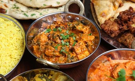 Degustación hindú para dos o cuatro personas con entrantes, principales, postre y bebidadesde 19,95 €