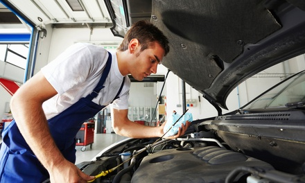 Car Check with Wash and Optional Oil and Filter Change or ECU Diagnostics at Triumph Road Tyres (Up to 76% Off)