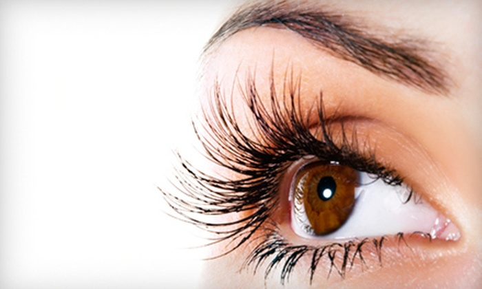 Society the Salon - Central City: Full Set of Eyelash Extensions with Optional Two-Week Fill at Society the Salon (62% Off)