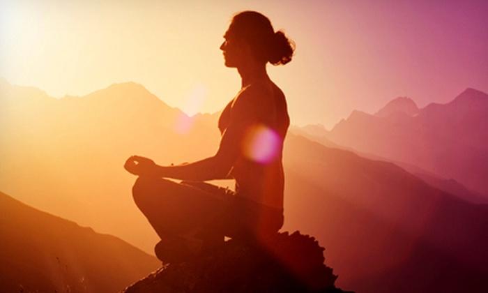 Mystic Flowering - Bainbridge: 1 or 10 Meditation Classes, Five Weeks of Yin Yoga, or 10 Yoga Classes at Mystic Flowering in Bainbridge (Up to 74% Off)