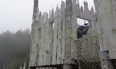 Paintball Outing with Equipment Rental and 100 Paintballs for Two or Four at TNT Paintball (Up to 54% Off)