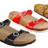 California Footwear Co. Women's Ergonomic Cork Sandals