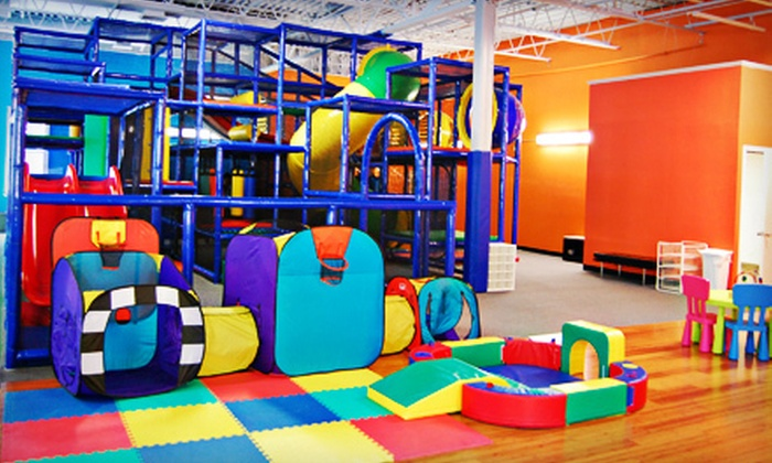 The Play Place - Greenburgh: 5 or 10 Kids' Indoor-Playground Visits at The Play Place (Up to 55% Off)