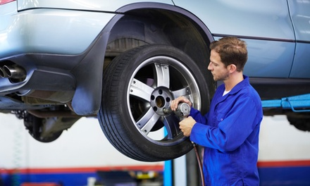 Two or Four-Wheel Alignment and 25-Point Inspection at Gaps Tire and Auto Service (Up to 54% Off)