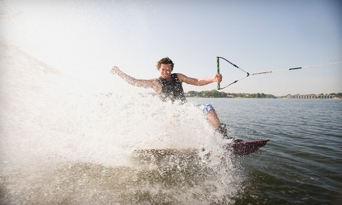 Lotto Boat - St. Petersburg: Three-Hour Wakeboarding, Water-Skiing, or Tubing Experience for Two or Four at Lotto Boat (Half Off)